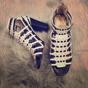 Banana Republic block heels